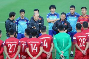 Đội tuyển Việt Nam hội quân thi đấu vòng loại World Cup 2022