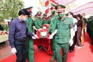 Nghệ An và Thanh Hóa truy điệu, an táng 110 liệt sĩ hy sinh tại Lào