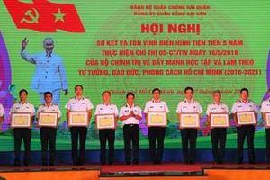 Đảng ủy Quân cảng Sài Gòn tôn vinh các điển hình thực hiện Chỉ thị số 05