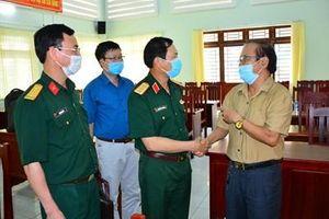 Thượng tướng Nguyễn Tân Cương tiếp tục chương trình tiếp xúc cử tri tại Bình Dương