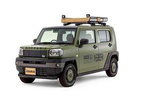 Land Rover Defender đậm chất chơi, 'nhái' từ xe kei Nhật Bản