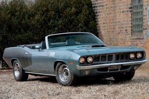 'Xế cụ' Plymouth Hemi Cuda Convertible 1971 định giá 140 tỷ đồng