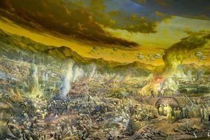 Bức tranh 'lớn nhất thế giới' tái hiện Chiến dịch Điện Biên Phủ