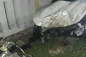 Ô tô tông vào tường nhà dân, 1 người tử vong, 3 người bị thương