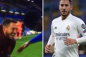 Hazard xin lỗi vì hành động phản cảm sau trận Chelsea-Real