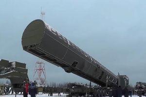 Nga triển khai tên lửa đạn đạo Sarmat cực mạnh, có khả năng xóa sổ toàn bộ nước Anh