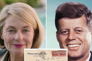 Hé lộ thư tình viết trước khi thành Tổng thống Mỹ của John F. Kennedy