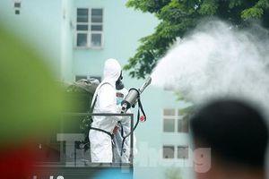 Khử khuẩn toàn bộ Bệnh viện K Tân Triều