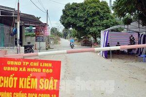 Lơ là phòng dịch, 2 chủ tịch phường ở Hải Dương bị phê bình