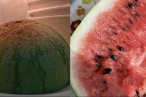 Người phụ nữ suýt chết sau khi ăn dưa hấu để tủ lạnh vài ngày