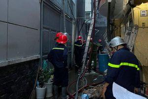 8 người chết trong vụ cháy nhà tại TP.HCM
