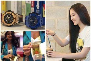 Sao Việt dùng túi hiệu: H'Hen Niê đựng chôm chôm; Mai Phương Thúy bày như hàng chợ