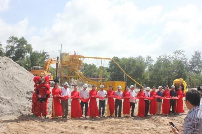 Nhu cầu bức thiết của cát sạch trong xây dựng