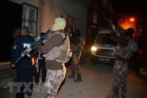 Cảnh sát Thổ Nhĩ Kỳ bắt giữ 8 đối tượng tình nghi là thành viên IS