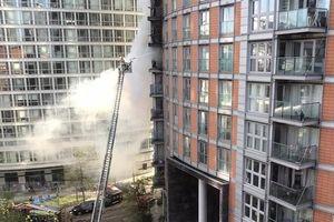 Anh: Hỏa hoạn tại chung cư cao tầng ở thủ đô London