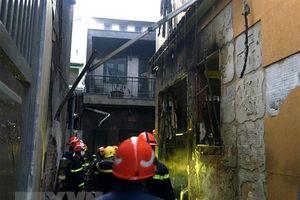 TP.HCM: Cháy nhà trong ngõ sâu khiến 8 người tử vong thương tâm