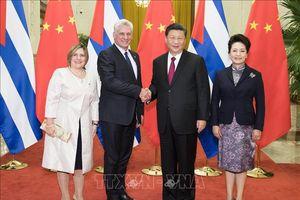 Trung Quốc khẳng định củng cố quan hệ với Cuba trong tình hình mới