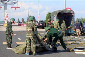 Tái lập các chốt kiểm soát dịch COVID-19 tại các cửa ngõ Quảng Ninh