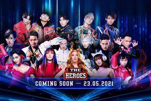 Lộ diện 12 chiến binh đầy màu sắc của The Heroes 2021