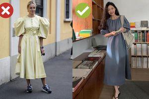 4 lỗi diện váy dài khiến nàng cao ráo cũng thành 'một mẩu'