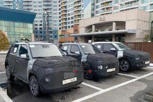 SUV 'siêu nhỏ' Hyundai AX1 lộ diện, ra mắt chính thức vào tháng 9
