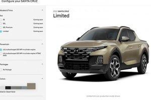Bán tải Hyundai Santa Cruz sắp bán ra có bao nhiêu phiên bản?