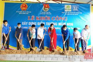 Khởi công xây dựng điểm trường mầm non tại huyện Thường Xuân