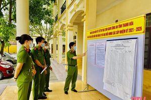 Trại tạm giam Công an tỉnh chuẩn bị tốt để người bị tạm giam, tạm giữ tham gia bầu cử