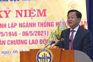 Phó Thủ tướng Lê Minh Khái: tiếp tục nâng cao chất lượng thông tin thống kê, nhất là dự báo về tình hình kinh tế vĩ mô