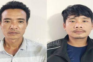 Bắc Giang: Tạm giữ hình sự 2 đối tượng bắt người trái pháp luật