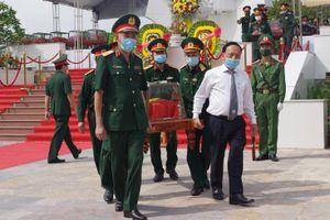 Lễ truy điệu, an táng hài cốt liệt sỹ quân tình nguyện và chuyên gia Việt Nam hy sinh tại Lào