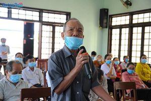 Ứng cử viên đại biểu Quốc hội và HĐND tỉnh: Tiếp xúc cử tri tại huyện Nghĩa Hành