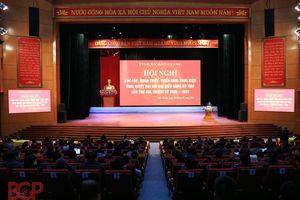 Bắc Giang: Nâng cao chất lượng hội nghị trực tuyến quán triệt, học tập Nghị quyết Đại hội Đảng bộ tỉnh lần thứ XIX