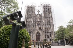 Nhà thờ lớn Hà Nội: Lưu luyến những hình ảnh cuối cùng trước ngày 'thay áo mới'
