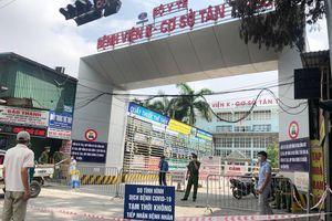 Hai trường hợp nghi mắc COVID-19 đến nhiều điểm quanh Bệnh viện K Tân Triều