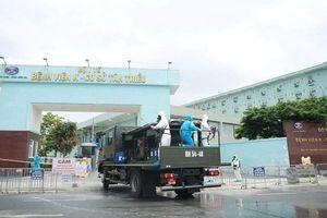 Phun khử trùng, tiêu độc tại Bệnh viện K - cơ sở Tân Triều