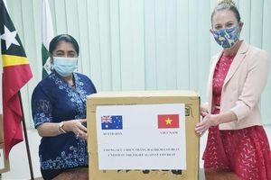 Việt Nam và Australia hỗ trợ Đông Timor chống dịch Covid-19