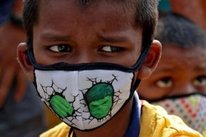 Trẻ em Ấn Độ mồ côi, bơ vơ vì thảm kịch Covid-19