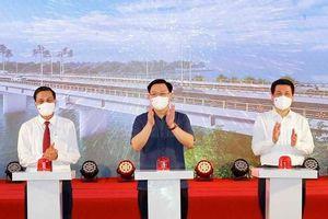 Khởi công dự án hơn 1.200 tỷ để nâng cấp quốc lộ 10