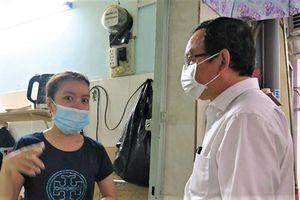 Bí thư Nguyễn Văn Nên thăm gia đình nạn nhân vụ cháy 8 người chết