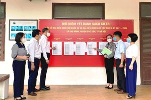 Huyện Sóc Sơn: Bảo đảm an toàn phòng, chống dịch Covid-19 cho bầu cử