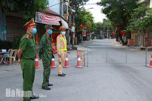 Hà Nam: Cách ly y tế 75 hộ dân ở 2 khu vực tại địa bàn huyện Kim Bảng