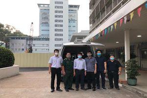Bệnh viện Chợ Rẫy tiếp tục lên đường hỗ trợ Kiên Giang chống dịch Covid-19