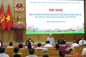 Tổng Bí thư Nguyễn Phú Trọng tham dự Hội nghị tiếp xúc với cử tri TP Hà Nội