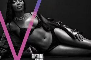 Kendall Jenner và 'báo đen' đọ dáng với bikini đen