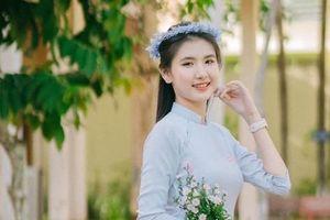 Nữ sinh miền Hậu Giang 'gây thương nhớ' với vẻ đẹp dịu dàng