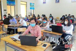 Thạch Hà triển khai hệ thống quản lý học và thi trực tuyến