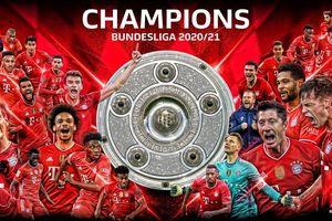 Bayern Munich lần thứ 9 liên tiếp lên ngôi tại Bundesliga