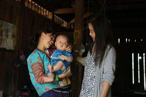 Vì một môi trường an toàn cho bà mẹ và trẻ em vùng dân tộc thiểu số