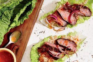 Món ngon cuối tuần: Vào bếp với thịt bò cuốn kiểu Thái ngon ngất ngây
